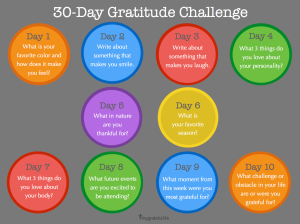 The 30-Day Gratitude Challenge II
